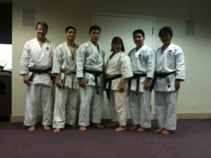 Patrick, John, Sensei Khim, Christina, Shin, Kore