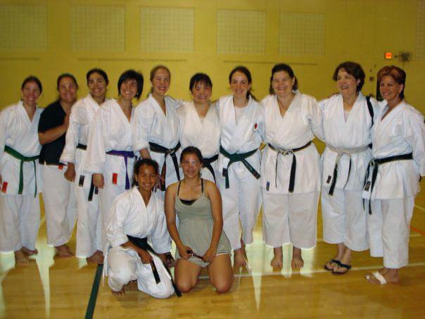 Karate Women in Miami