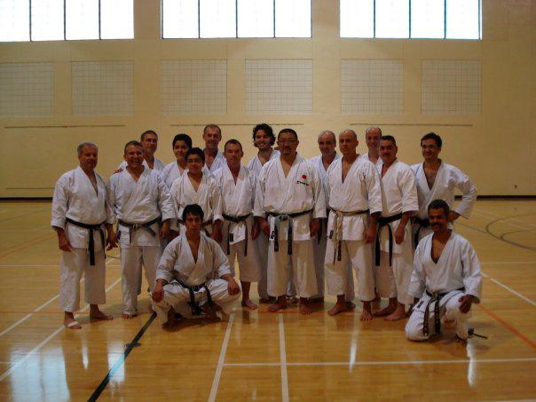 Karate Men in Miami