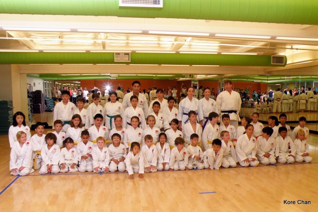 JKA NorCal Kyu Testing on 08/29/09
