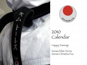 JKA NorCal 2010 Calendar