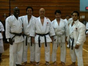 Richard, Gustavo, Jose Sensei, Jovany & Andre