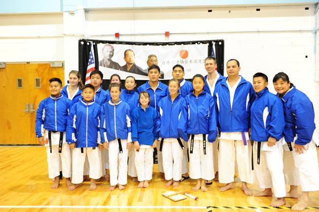 JKA NorCal competitors at JKA/AF Nationals 2012