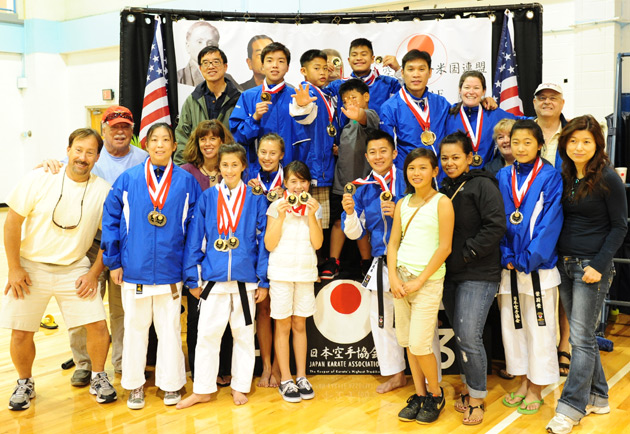 The full JKA Nor Cal Team and Parents
