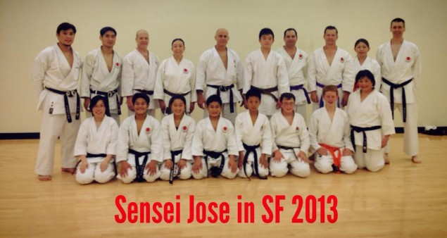 Sensei Jose in SF 2013