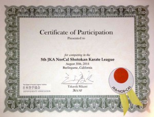 Cert of Participation